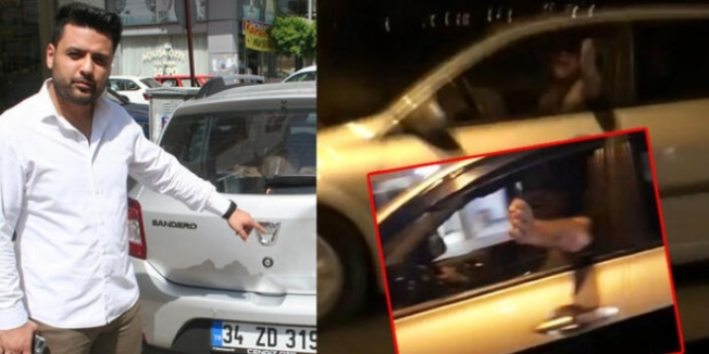 Mersin'de Avukat ve Eşini Trafikte Sıkıştırıp, Tehdit Ettiler