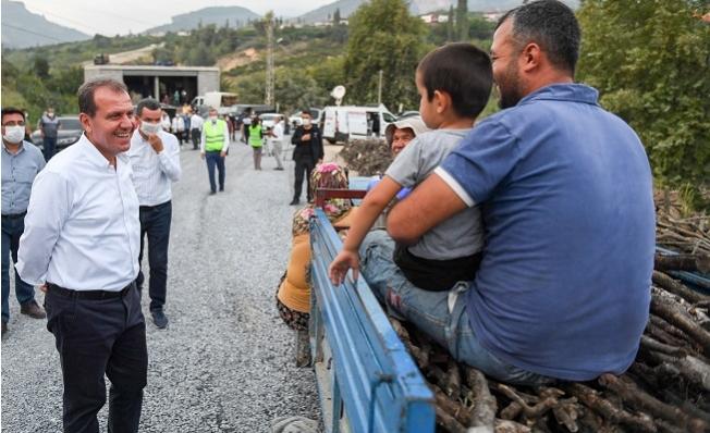 Başkan Seçer, Yenişehir'in Kırsal Mahallelerini Ziyaret Etti.