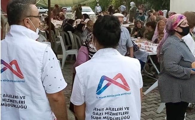 Büyükşehir Şehit ve Gazi Ailelerine Dönük Çalışmaları İle Taktir Topluyor