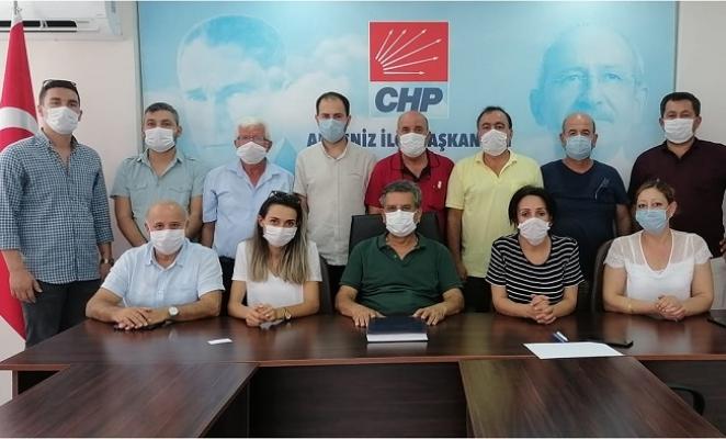 CHP Akdeniz'de Boşalan Koltuğa Semih Palamut Getirildi.