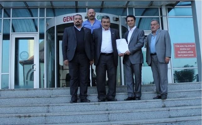 CHP Çamlıyayla İlçe Örgütü Görevden Alındı.