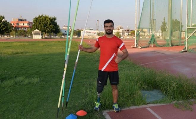 Kazada Bacağını Kaybetti, Cirit Atmada Avrupa Şampiyonası'na Hazırlanıyor