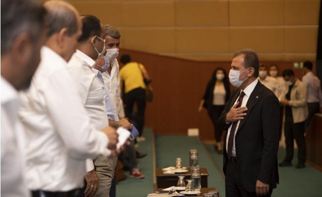 Mersin Büyükşehir Meclisinde Yol Tartışması