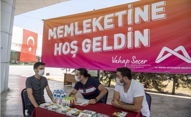 Mersin Büyükşehir, Üniversiteyi Yeni Kazananları Otogarda Karşılıyor