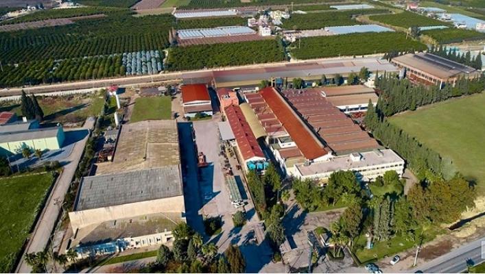 Mersin'de Metal Fabrikasında Covid-19 Sayısı 100'e Ulaşınca Üretime Ara Verildi.