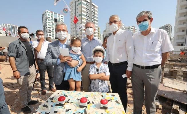 Mezitli'de Yeni Bir Çocuk Gündüz Bakım Evinin Temeli Atıldı