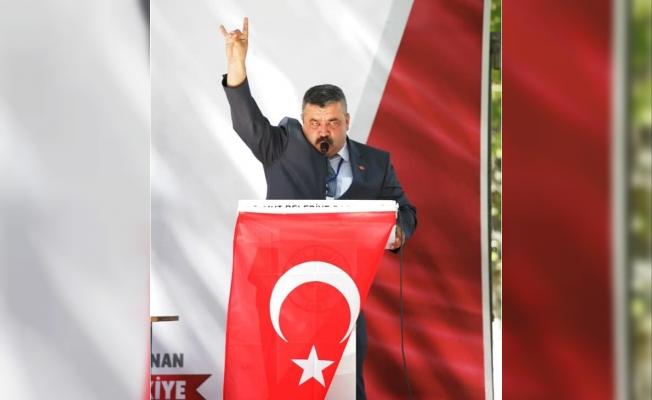 MHP Mut İlçe Başkanı Alparslan Savaş Kır, Yeniden Seçildi.