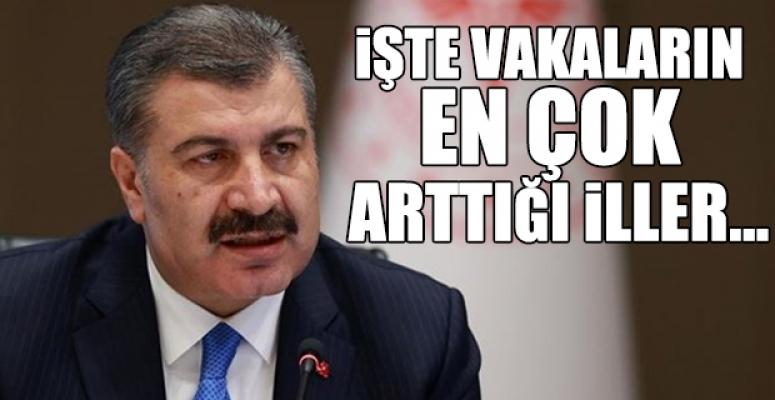 Sağlık Bakanı da Mersin'deki Koronavirüs Vakalarındaki Artışı Doğruladı.