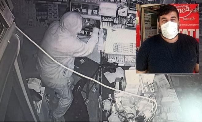 Bakan Koca'nın Maske Uyarısı Mesajıyla Tanındı, İşlettiği Markete Hırsız Girdi