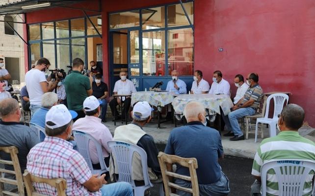 Başkan Gültak 1 Günde Akdeniz'deki 7 Mahalleyi Ziyarete Etti.