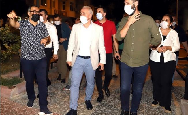 Başkan Gültak Çamlıbel'i Ziyaret Etti.