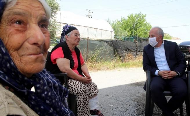 Başkan Gültak, Yaşlılar Gününü Kutladı.
