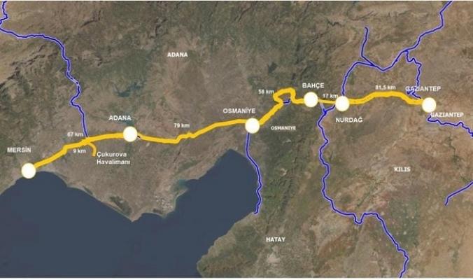 Hızlı Tren Hattı Tüm Güneydoğu Anadolu'yu Kapsamalı