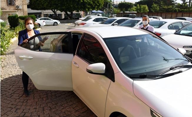 Mersin Büyükşehir'de Kadın Daire Başkanına, Kadın Şoför