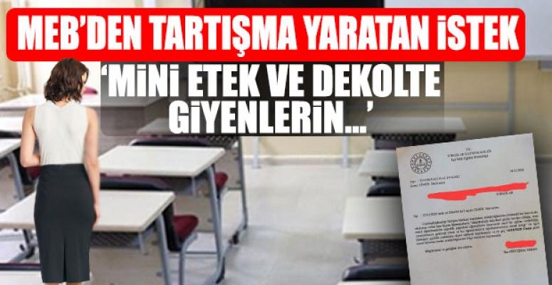 Mersin'deki Öğretmenler Hakkında Skandal Şikayet