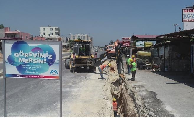 MESKİ'den Mersin'de 27 Nokta'da Yatırım Atağı