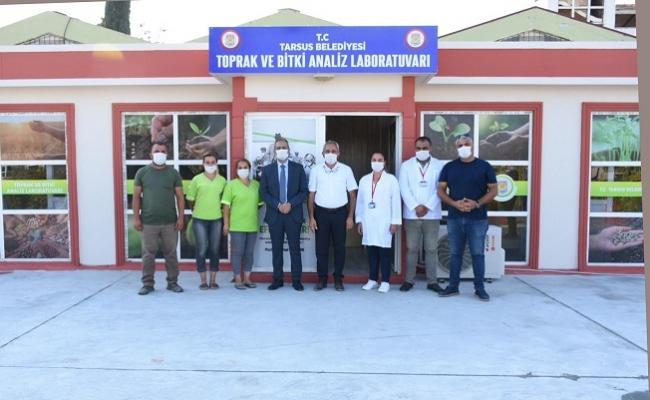 Tarsus Belediyesi Bitki ve Toprak Analiz Laboratuvarı Kurdu