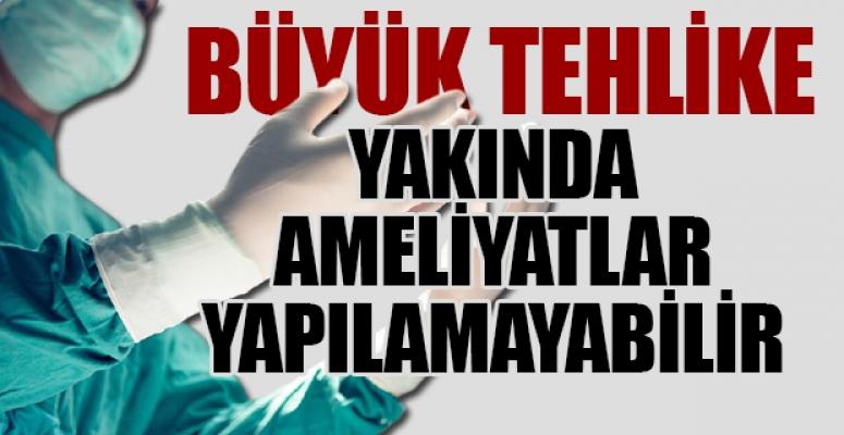 Türkiye'de Ameliyat Eldiveni Bulunamıyor, Karaborsaya Düştü