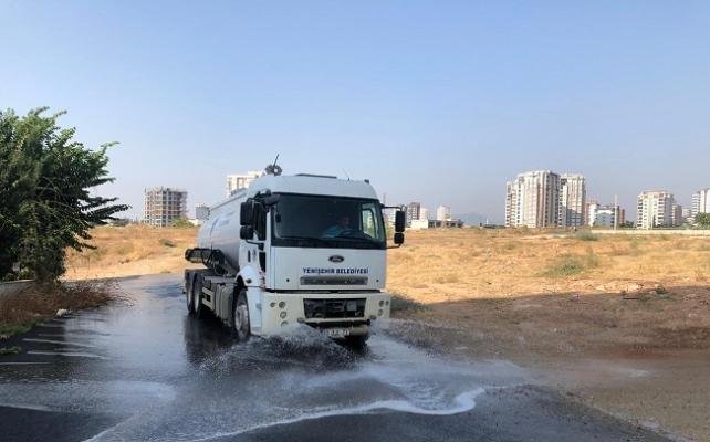 Yenişehir'de Temizlik ve Hijyen Çalışmaları Sürüyor
