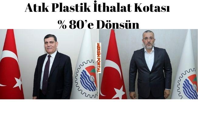 35 No'lu Komite, Atık Plastik İthalat Kotasının % 80'e Dönmesini İstiyor