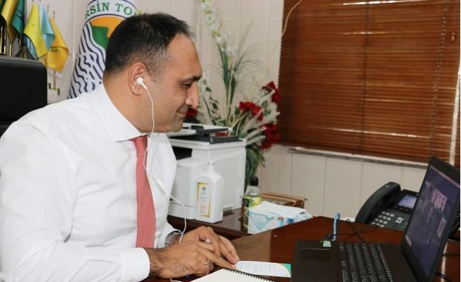 Başkan Yılmaz, Yerli ve Yabancı Yatırımcıyı Mersin'e Davet Etti.