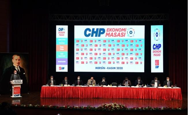 CHP Ekonomi Masasının İlk Durağı Mersin Oldu.