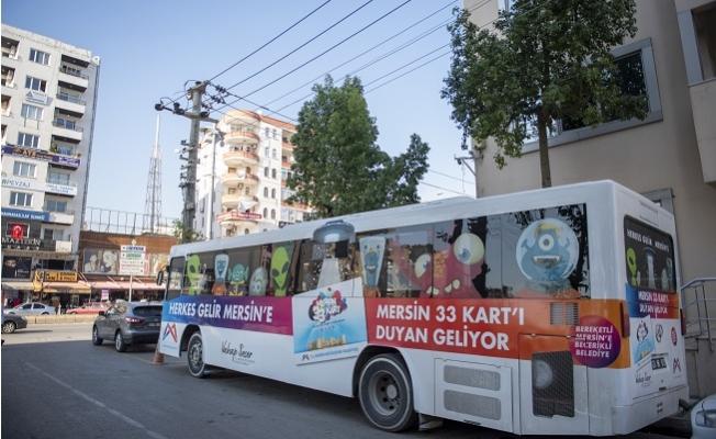 Kentkart Mobil Hizmet Aracı, 30 Kasım'a Kadar eski Mezitli Belediyesi Önünde