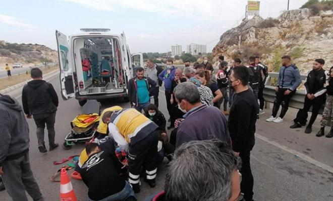 Mersin'de İki Motosiklet Çarpıştı: 1 Ölü, 2 Yaralı