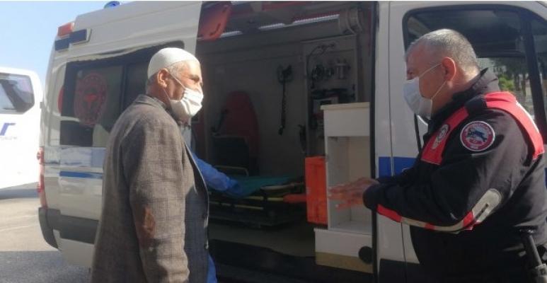 Test Sonucunu Beklemeyen Pozitif Hasta, Otogarda Yakalandı