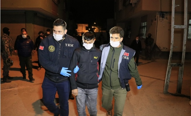 """Adana'da PKK'nın """"Milis"""" İşbirlikçilerine Operasyon"""