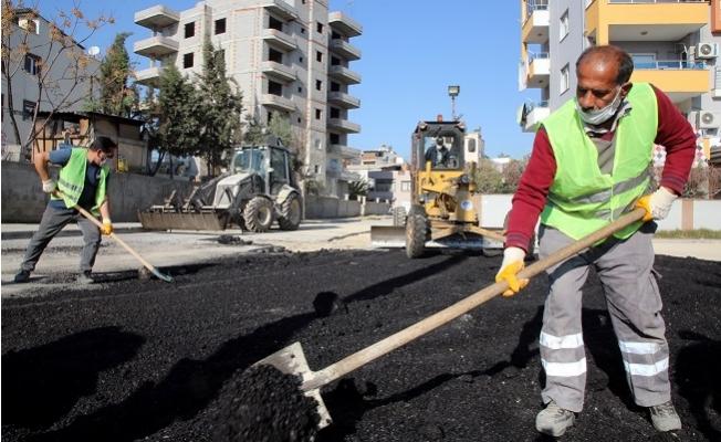 Akdeniz'de Sokaklar Yenileniyor