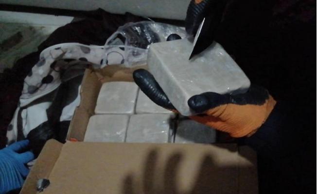 Ayakkabı Kutusundan Bu Sefer Uyuşturucu Çıktı