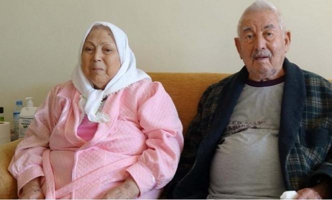 Yaş Almış Biri 92, Diğeri 82 Yaşındaki Çift, Coronayı Yendi