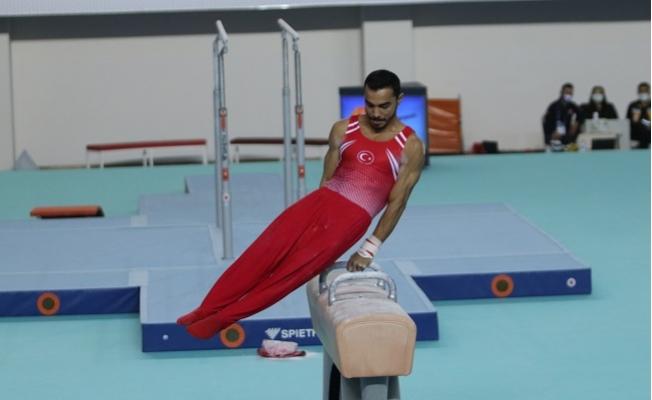 Büyük Erkekler Artistik Cimnastik Milli Takımı Göz Doldurdu