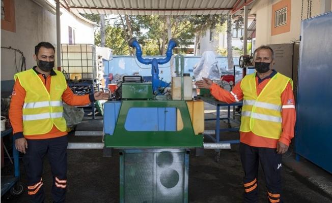 Büyükşehirin Atölyesinde Temizlik Ekipmanları Yeniden Hizmete Kazandırılıyor