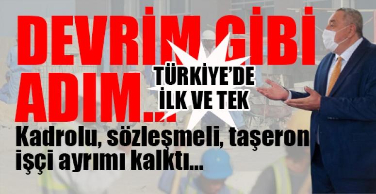 CHP'li Belediye Çıtayı Yükseltti: Asgari Ücret 4 Bin 500 Lira Oldu