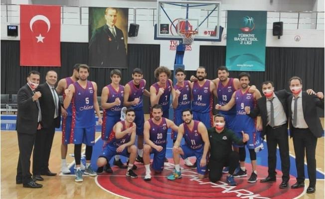 Mersin Büyükşehir Erkek Basketbol Takımı, İstanbul Büyükşehir'i 76-75 Yendi.