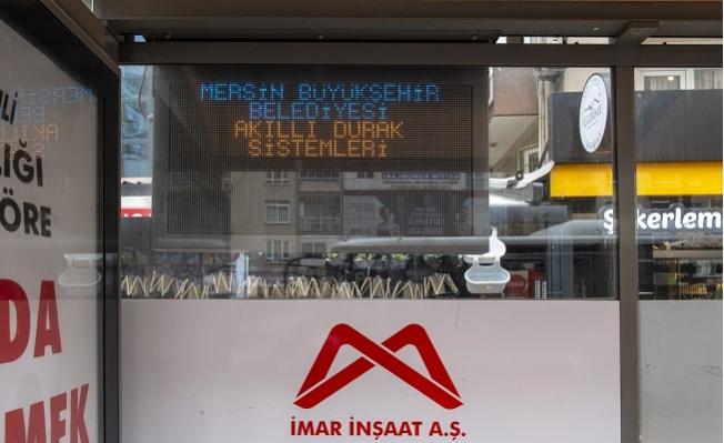 Mersin'de Duraklar Akıllandı.