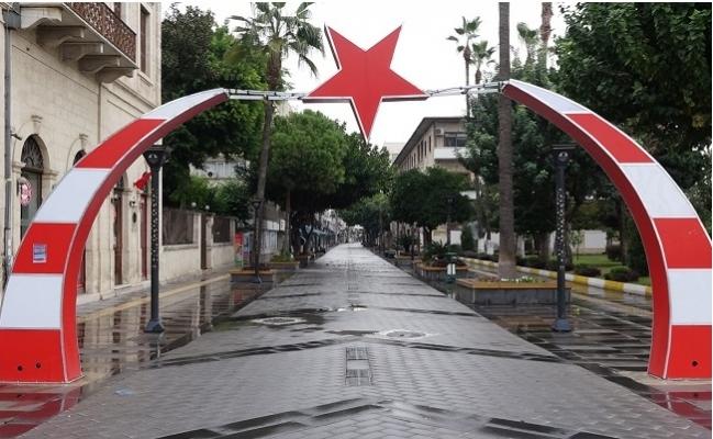 Mersin'de Sokaklar Kısatlamadan Dolayı Sessizliğe Büründü