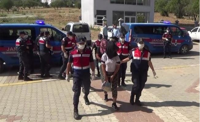 Mersin'den Denizli'ye Uzanan 6 Kişilik Çete Avcı Kapanı Operasyonu İle Çökertildi.