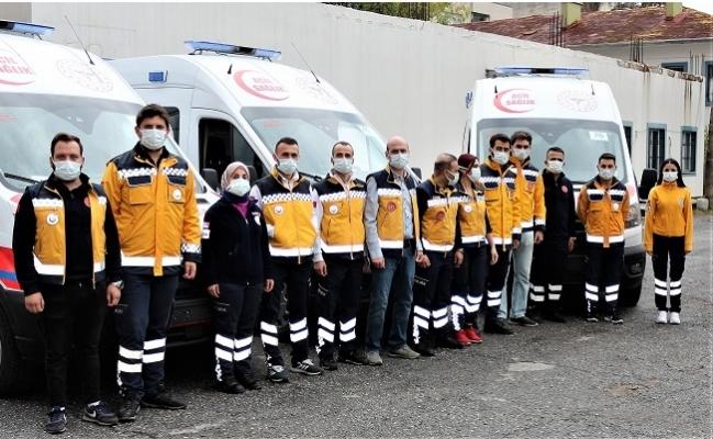 Mersin'e Gönderilen 3 Yeni Doğan Ambulansı ile Kentin Ambulans Sayısı 101 Çıktı
