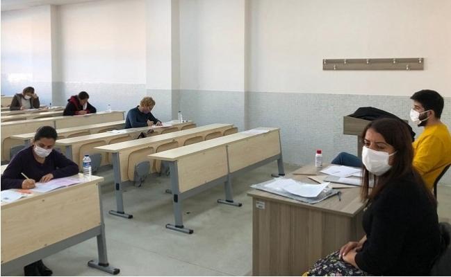 MEÜ İdari Personeli Görevde Yükselme Sınavında Ter Döktü