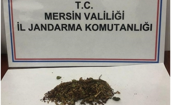 Silifke'de İki Şüpheli 30 Gram Esrar ile Yakalandı