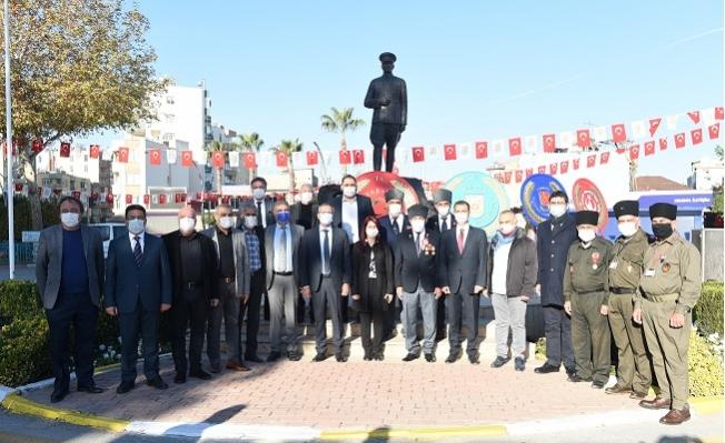 Tarsus'un Kurtuluş Günü Sade Bir Törenle Kutlandı