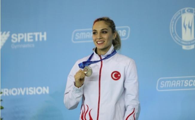 Türkiye, Avrupa Kadınlar Artistik Cimnastik Şampiyonasında Kapanışı Gümüş Madalya Yaptı.