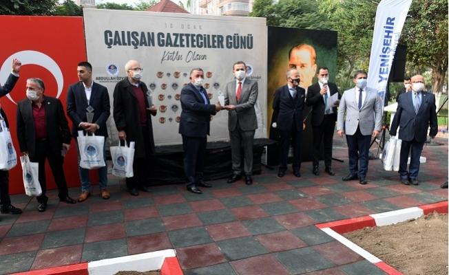 10 Ocak Çalışan Gazeteciler Günü Nimet ve İhsan Tufan Parkı'nda Kutlandı