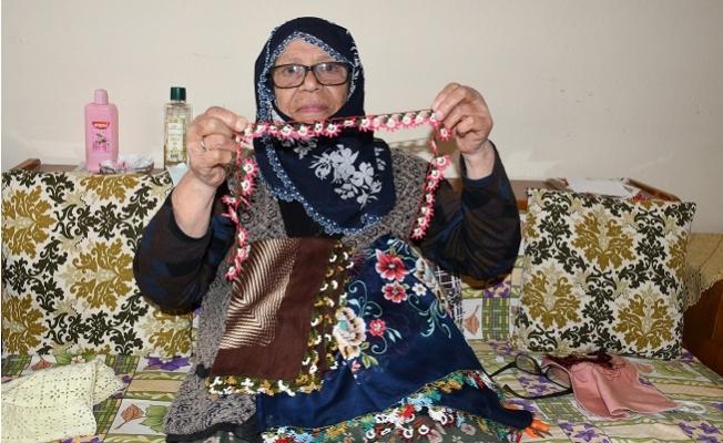 81 Yaşında, İğne Oyası ile 4 Çocuk Okutup, Evlendirdi