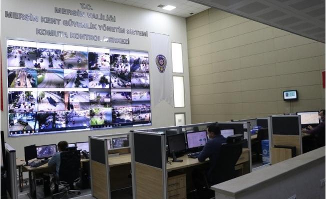 Burası Mersin'de Polisin Gözü Kulağı