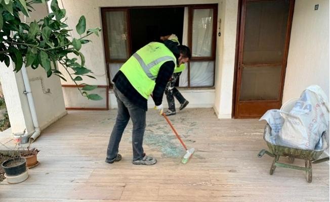 Büyükeceli'de Hasar Onarım Çalışmaları Tamamlandı