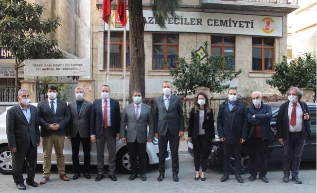 CHP Mersin İl Başkanı Adil Aktay'dan, MGC'ye Ziyaret